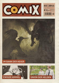 Cover for Comix (JNK, 2010 series) #2/2011