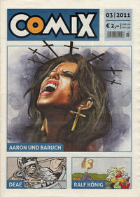Cover Thumbnail for Comix (JNK, 2010 series) #3/2011