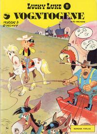 Cover Thumbnail for Lucky Luke (Nordisk Forlag, 1973 series) #11 - Vogntogene