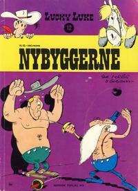Cover Thumbnail for Lucky Luke (Nordisk Forlag, 1973 series) #12 - Nybyggerne