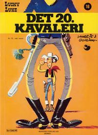 Cover Thumbnail for Lucky Luke (Semic, 1977 series) #16 - Det 20. kavaleri [1. opplag]