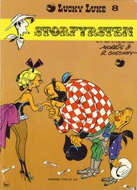 Cover Thumbnail for Lucky Luke (Nordisk Forlag, 1973 series) #8 - Storfyrsten