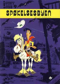 Cover Thumbnail for Lucky Luke (Nordisk Forlag, 1973 series) #9 - Spøkelsesbyen
