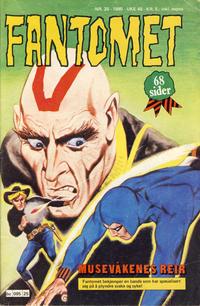 Cover Thumbnail for Fantomet (Semic, 1976 series) #25/1980