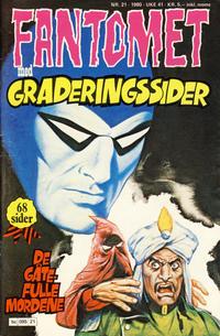 Cover Thumbnail for Fantomet (Semic, 1976 series) #21/1980