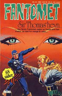Cover Thumbnail for Fantomet (Semic, 1976 series) #23/1980
