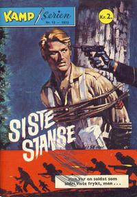 Cover Thumbnail for Kamp-serien (Serieforlaget / Se-Bladene / Stabenfeldt, 1964 series) #12/1972