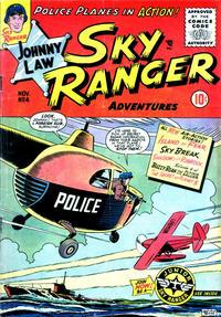 Cover Thumbnail for Johnny Law, Sky Ranger (Good Comics Inc. [1950s], 1955 series) #4