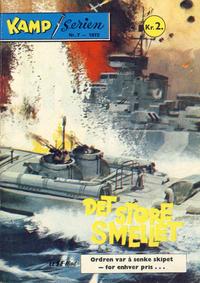 Cover Thumbnail for Kamp-serien (Serieforlaget / Se-Bladene / Stabenfeldt, 1964 series) #7/1972
