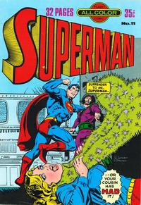 Cover Thumbnail for Superman (K. G. Murray, 1977 series) #11