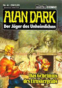 Cover Thumbnail for Alan Dark (Bastei Verlag, 1983 series) #4