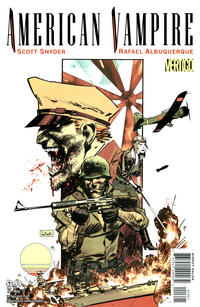 Cover Thumbnail for American Vampire (DC, 2010 series) #13 [Variant Cover (1 in 10)]
