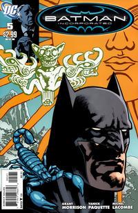 Cover Thumbnail for Batman, Inc. (DC, 2011 series) #5 [Yanick Paquette Cover]