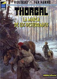 Cover Thumbnail for Pandora (NORMA Editorial, 1989 series) #55 - Thorgal. La marca de los desterrados