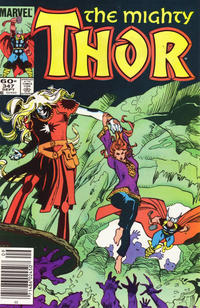 Cover Thumbnail for Thor (Marvel, 1966 series) #347 [Newsstand]