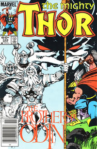 Cover Thumbnail for Thor (Marvel, 1966 series) #349 [Newsstand Edition]