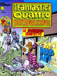 Cover Thumbnail for I Fantastici Quattro Gigante (Editoriale Corno, 1978 series) #21