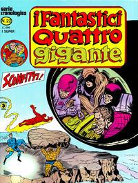Cover Thumbnail for I Fantastici Quattro Gigante (Editoriale Corno, 1978 series) #22