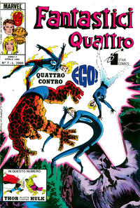 Cover Thumbnail for Fantastici Quattro (Edizioni Star Comics, 1988 series) #7