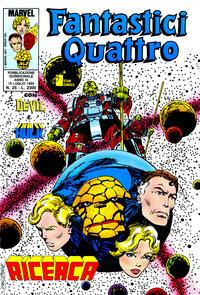Cover Thumbnail for Fantastici Quattro (Edizioni Star Comics, 1988 series) #25
