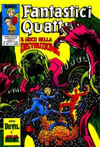 Cover Thumbnail for Fantastici Quattro (Edizioni Star Comics, 1988 series) #28