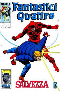 Cover Thumbnail for Fantastici Quattro (Edizioni Star Comics, 1988 series) #41
