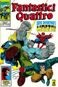 Cover Thumbnail for Fantastici Quattro (Edizioni Star Comics, 1988 series) #106