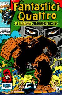 Cover Thumbnail for Fantastici Quattro (Edizioni Star Comics, 1988 series) #110