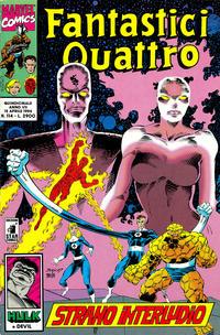 Cover Thumbnail for Fantastici Quattro (Edizioni Star Comics, 1988 series) #114
