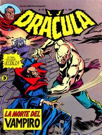 Cover Thumbnail for Corriere della Paura Presenta Dracula (Editoriale Corno, 1976 series) #18