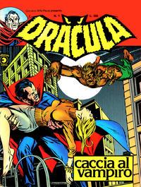 Cover Thumbnail for Corriere della Paura Presenta Dracula (Editoriale Corno, 1976 series) #4