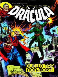 Cover Thumbnail for Corriere della Paura Presenta Dracula (Editoriale Corno, 1976 series) #7