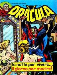 Cover Thumbnail for Corriere della Paura Presenta Dracula (Editoriale Corno, 1976 series) #8