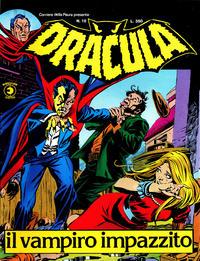 Cover Thumbnail for Corriere della Paura Presenta Dracula (Editoriale Corno, 1976 series) #10