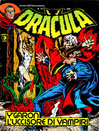 Cover Thumbnail for Corriere della Paura Presenta Dracula (Editoriale Corno, 1976 series) #12