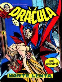 Cover Thumbnail for Corriere della Paura Presenta Dracula (Editoriale Corno, 1976 series) #13