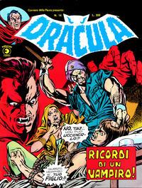 Cover Thumbnail for Corriere della Paura Presenta Dracula (Editoriale Corno, 1976 series) #14