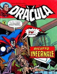 Cover Thumbnail for Corriere della Paura Presenta Dracula (Editoriale Corno, 1976 series) #15