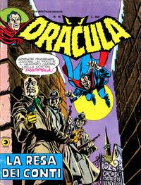 Cover Thumbnail for Corriere della Paura Presenta Dracula (Editoriale Corno, 1976 series) #16
