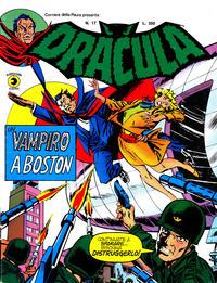 Cover Thumbnail for Corriere della Paura Presenta Dracula (Editoriale Corno, 1976 series) #17