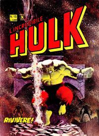 Cover Thumbnail for L'Incredibile Hulk (Editoriale Corno, 1980 series) #15