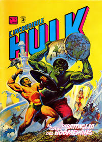 Cover Thumbnail for L'Incredibile Hulk (Editoriale Corno, 1980 series) #17