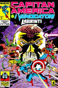 Cover Thumbnail for Capitan America & i Vendicatori (Edizioni Star Comics, 1990 series) #31