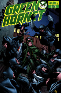 Cover Thumbnail for Green Hornet (Dynamite Entertainment, 2010 series) #15 [Phil Hester Cover]