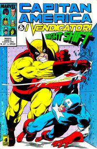Cover Thumbnail for Capitan America & i Vendicatori (Edizioni Star Comics, 1990 series) #67