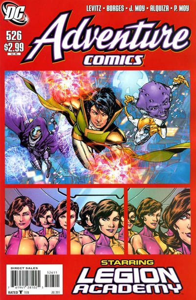 Cover for Adventure Comics (DC, 2009 series) #526