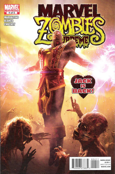Cover for Marvel Zombies Supreme (Marvel, 2011 series) #4