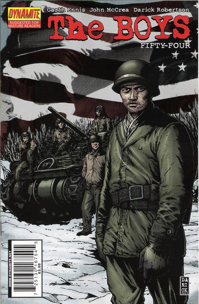 Cover for The Boys (Dynamite Entertainment, 2007 series) #54