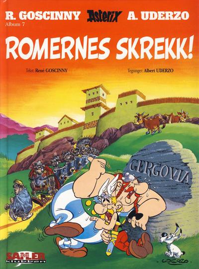 Cover for Asterix [Seriesamlerklubben] (Hjemmet / Egmont, 1998 series) #7