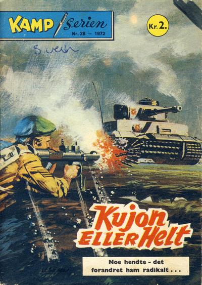 Cover for Kamp-serien (Serieforlaget / Se-Bladene / Stabenfeldt, 1964 series) #28/1972